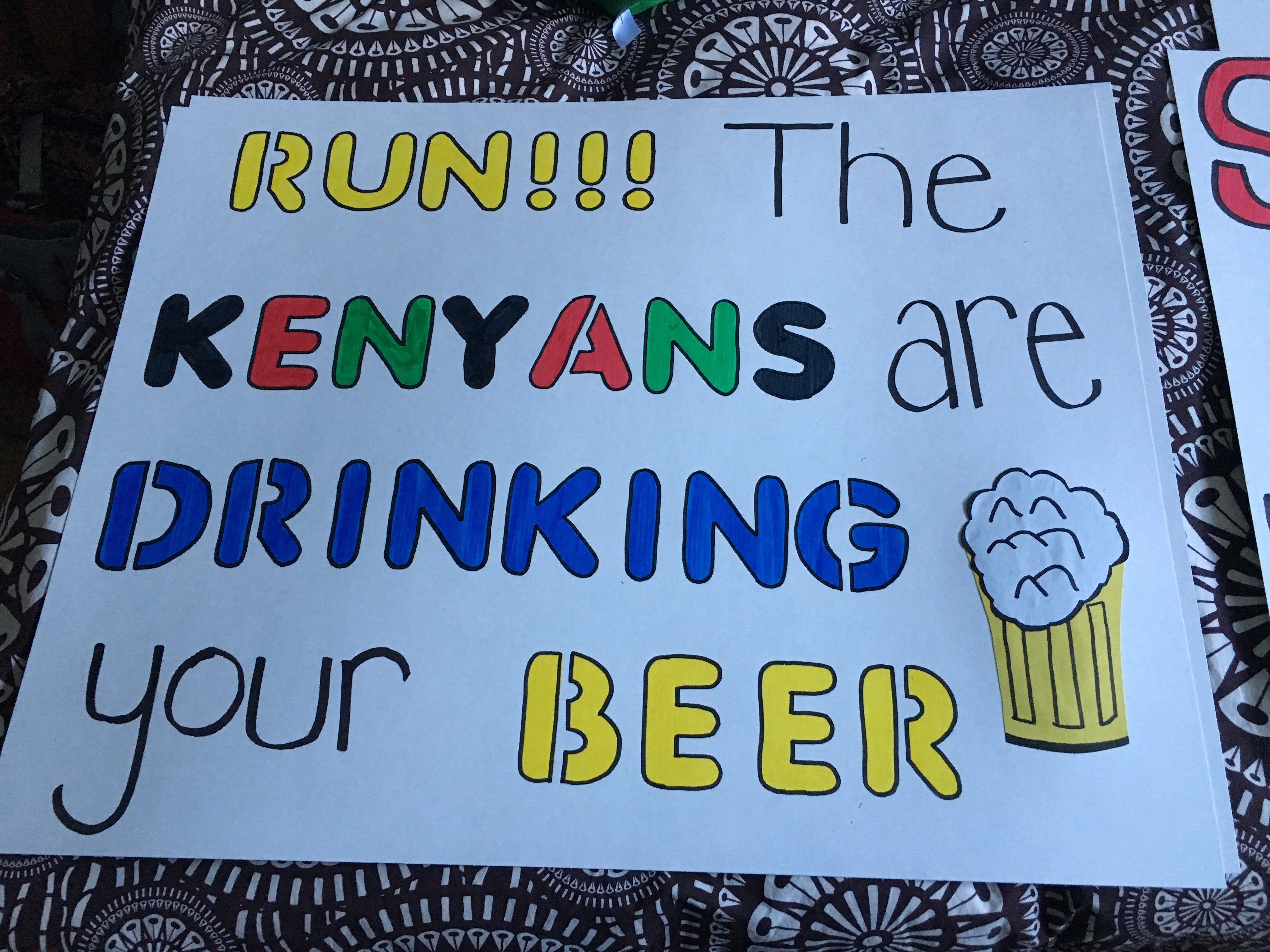 Kenyans are drinking your beer