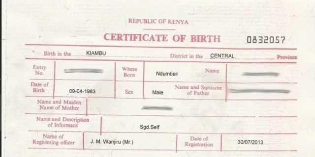 National Documents one day service