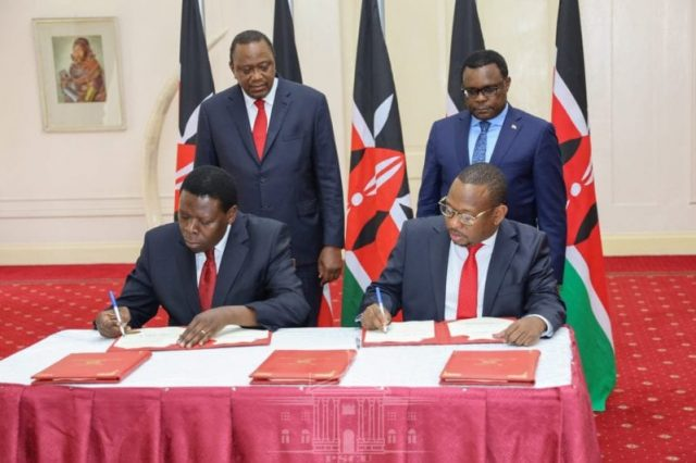Nairobi county handed over to National Government